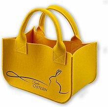 Osterkörbchen - Dekoration Oster Korb aus 100%