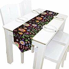 Ostern Blumen Tischläufer, Tischdecke Läufer