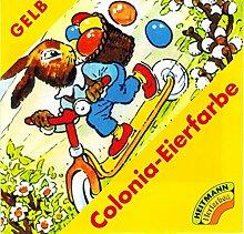 Ostern Colonia Eierfarbe GELB (für 5-10 Eier)