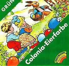 Ostern Colonia Eierfarbe GRÜN (für 5-10 Eier)