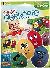 Ostern - Eierfarbe FRECHE EIERKÖPFE mit