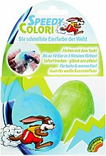 Ostern Eierfarbe Speedy Colori BLAU + GRÜN (10