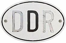 Ostprodukte-Versand.de Aufkleber Schriftzug DDR