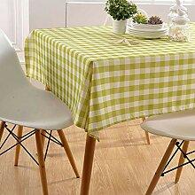 OSVINO Tischdecke Tischtuch kariert/Streifen