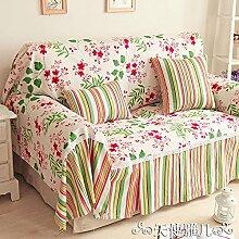 osy leichte Stoff-Sofa, mit dem Heimweg Handtuch, Baumwolle, Sofa-Schonbezug 180*200cm