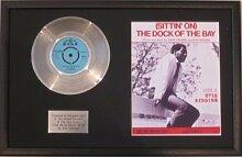 Otis Redding–Platinum Disc & Song Tafeltuch The Dock Of The Bay