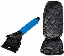 OTQEALY Ice Shovels-Eiskratzer Für Auto, Stabile