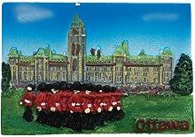 Ottawa Kanada Kühlschrankmagnet 3D Harz