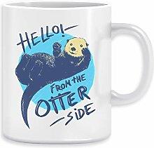 Otter Side Kaffeebecher Becher Tassen Ceramic Mug