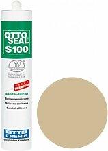 OttoSeal S100, das Premium- Sanitär- Silicon, 300ml Farbe: C103 SAHARA