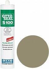 OttoSeal S100, das Premium- Sanitär- Silicon, 300ml Farbe: C2044 SANDGRAU 18