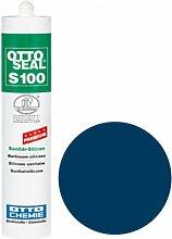 OttoSeal S100, das Premium- Sanitär- Silicon, 300ml Farbe: C42 SORRENTOBLAU