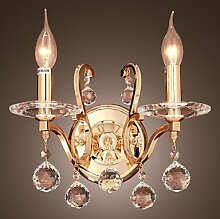 Oudan Dorchester - Wandlampe aus Kristall mit 2
