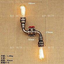 Oudan Einfache kreative Wasserpfeife Wandleuchte