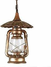 Oudan Retro Lampe Laterne Kronleuchter