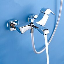 Ouecc Shang Großhandel Luxus Messing Antik Badewanne Wasserhahn In Der Wand Montiert Badewanne Dusche Wasserhahn Mischbatterie
