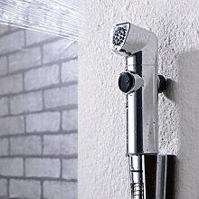 ougmoo alle Kupfer warmen und kalten konstante Temperatur weiblich Waschen Gerät Booster Badezimmer Dusche Head Spray Nozzle 2087