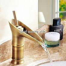 ougmoo Badezimmer Tasse Einhandmischer Wasserhahn messing