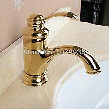 ougmoo Badezimmer Wasserhahn Bad Küche Waschbecken Mischbatterie Messing antik Wasserhahn Wasserhahn messing