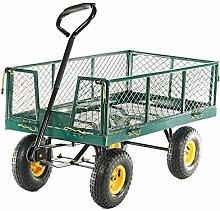 Ouhigher Bollerwagen Gartenkarre - bis 300 kg