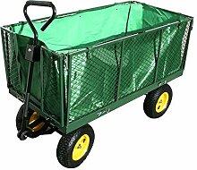 Ouhigher Bollerwagen Gartenkarre - bis 500 kg