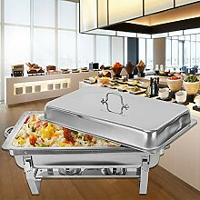 OUKANING Speisenwärmer Chafing Dish
