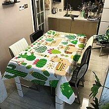 Oukeep 3D-Tischdecke Für Weihnachtselche,