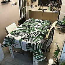 Oukeep Moderne Und Einfache 35D-Blätter, Grüne