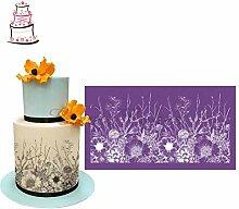 Oulensy Alles Wächst Kuchen Stencil