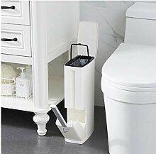 Oulensy Plastik Badezimmer-Abfalleimer Mülleimer