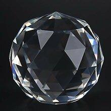 Oumefar 1 Stück durchsichtige Kristallprismen