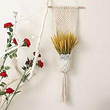 Oumefar Baumwollseil hängen Korb Blumentopf