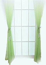 Oumefar Fenstervorhang Kleiderbügel Vorhänge