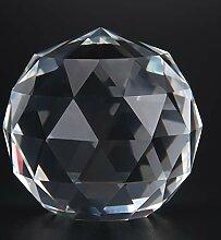 Oumefar Klare Glaskugel Prismen Glaskugel 1PC