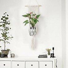 Oumefar Pflanzenhalter Blumentopf Kleiderbügel