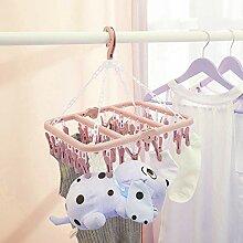 Oumefar Unterwäsche Kleiderbügel PP Kunststoff