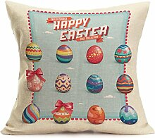 Ouneed® Easter Sofa Bed Home Decoration Festival Pillow Case (A)