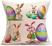 Ouneed® Easter Sofa Bed Home Decoration Festival Pillow Case (G)
