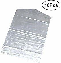 OUNONA 10 stücke 60 * 130 Wasserdichte Kleidung