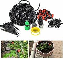 OUNONA 25m Automatisch Gartenpflanze Gewächshaus Bewässerungssystem