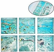 OUNONA 6 Stück Anti-Rutsch-Sticker Die