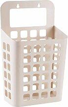 OUNONA Plastik Wäschekorb Wäschebox
