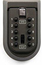 OUNONA Schlüsselsafe schlüsseltresor für Innen- und Außenbereich Keykeeper Schlüsselschloss zur Wandmontage