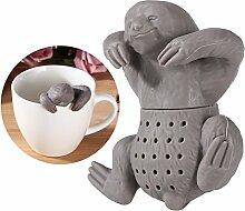 OUNONA Silikon Teekugeln Lustiges Teesieb