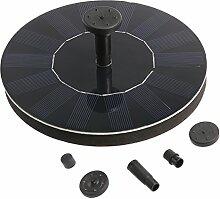 OUNONA Solarbatterie Brunnen und pumpen für