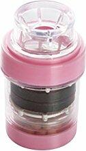 OUNONA Wasserhahn Wasserfilter Filtersystem Küche Zubehör (Rosa)