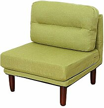 Ouqian-Home Sofa Gepolsterte Holzliege Moderne