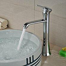 ourmeler New zinntheken Messing Waschbecken Wasserhahn Loch Deck montieren Badezimmer WC Waschbecken Einhebelmischer Wasserhähne Chrom Finish