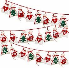 OurWarm Weihnachten Adventskalender 2020, 24 Tage