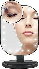 ourwin erleuchtet Make-up Spiegel Touch Bildschirm